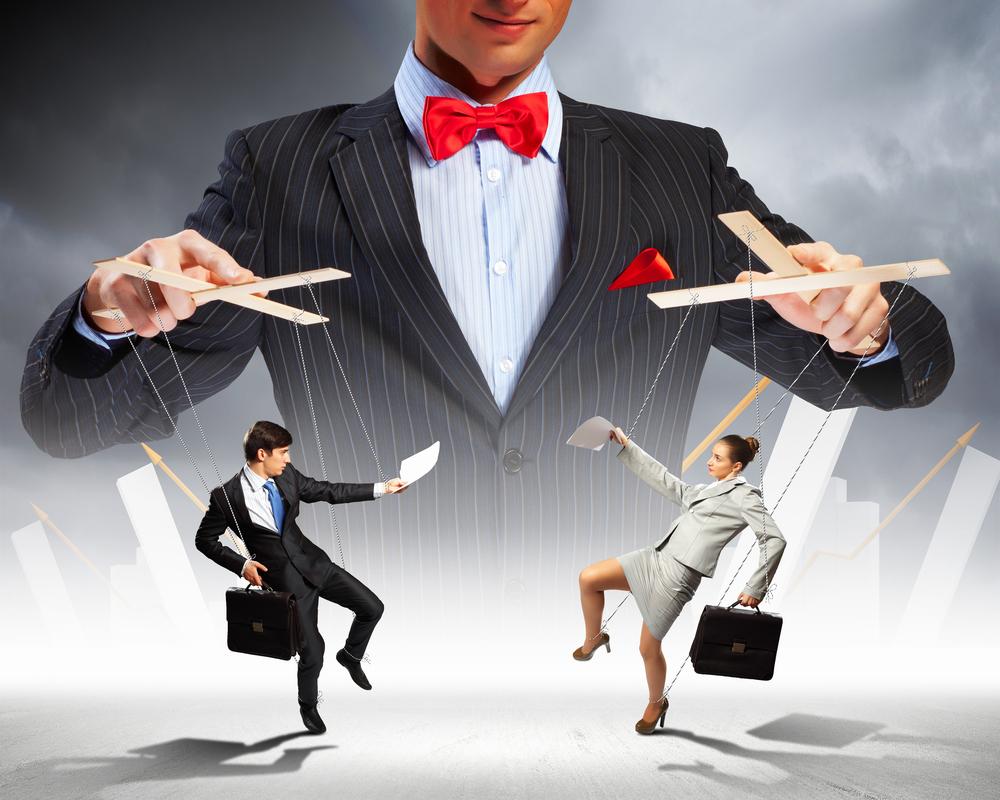 Transaktionella ledare styr med piska och morot