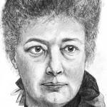 Bild på Bertha von Suttner, författare till Ner Med Vapnen