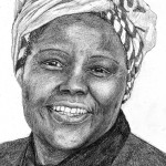 Bild på Wangari Maathai, Nobelpristagare