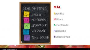 smarta mål engelska och svenska