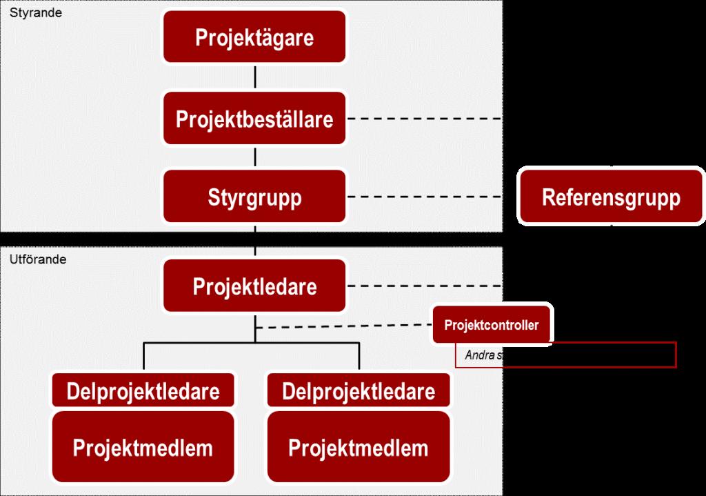 Projektorganisation och roller