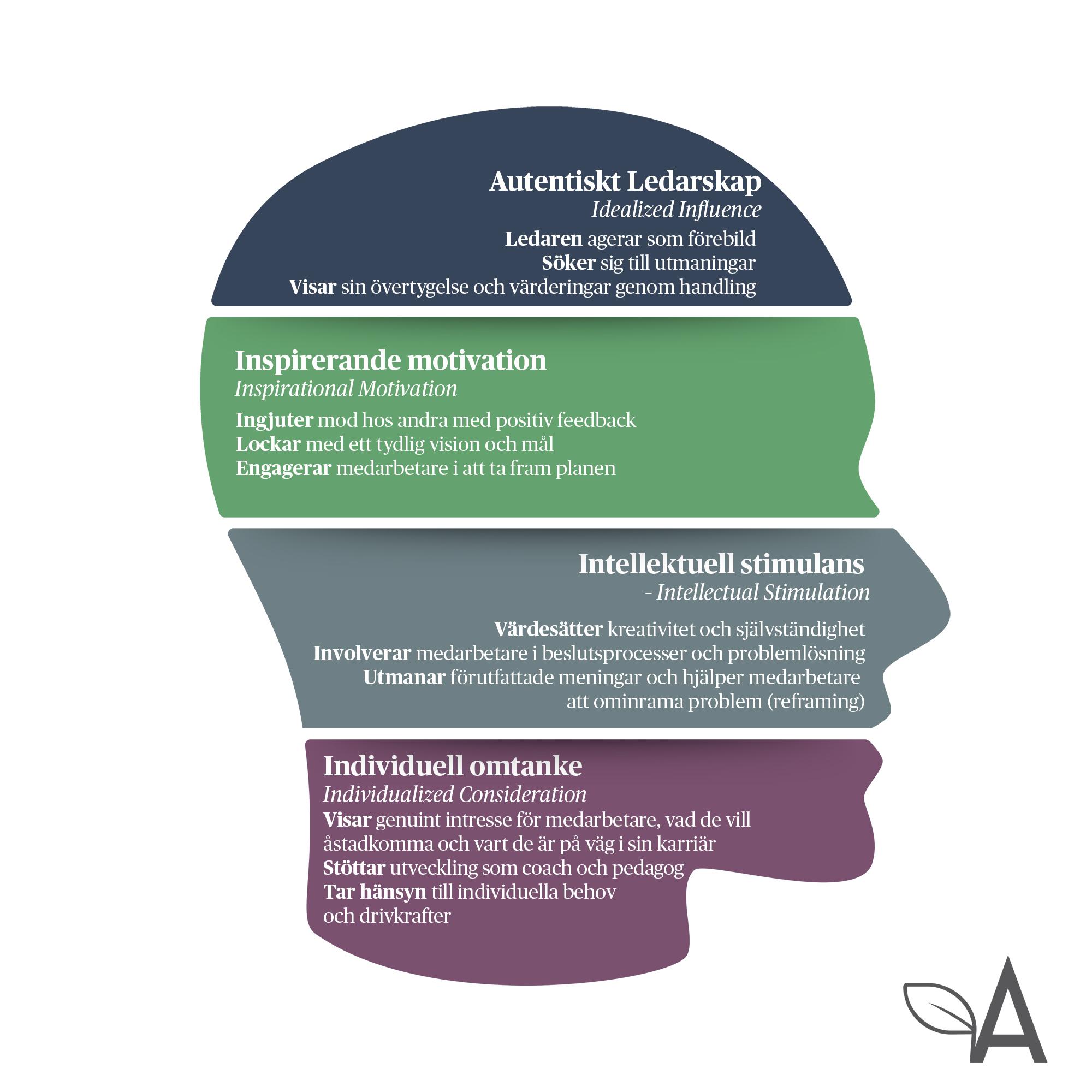 modell transformativt ledarskap