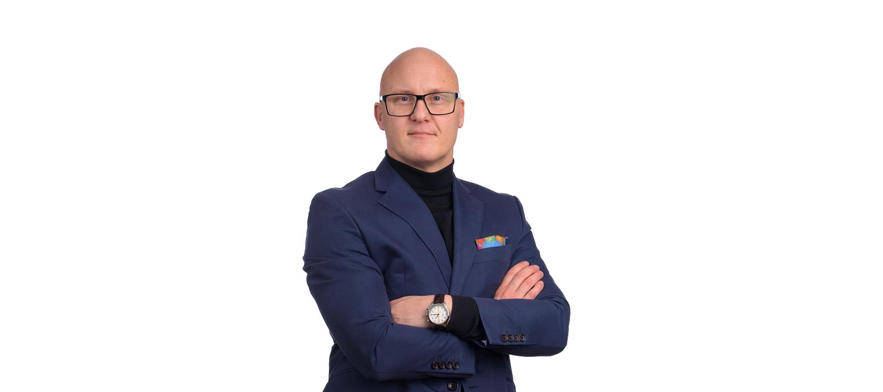Benny Persson, säljare på Astrakan