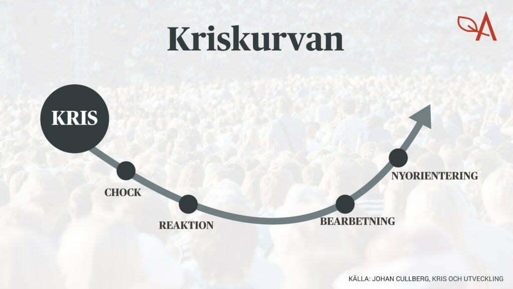 Exempel Kriskurvan Johan Cullberg Krisreaktioner